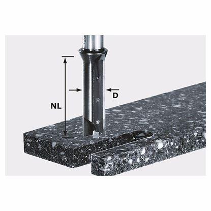 Obrázok pre výrobcu FESTOOL Drážkovacia fréza s vym. platničkami HW, stopka 12 mm HW S12 D14/45 WM 491110