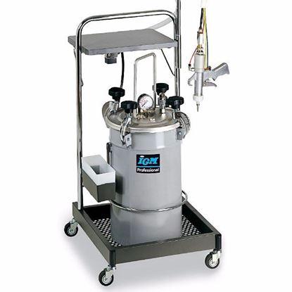 Obrázok pre výrobcu IGM 0165 Tlakový riadený dávkovač lepidla, nerezový, 12kg