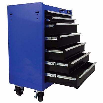Obrázok pre výrobcu GEKO G10806 Montážny vozík so 7 zásuvkami, 610 x 660 x 330 mm