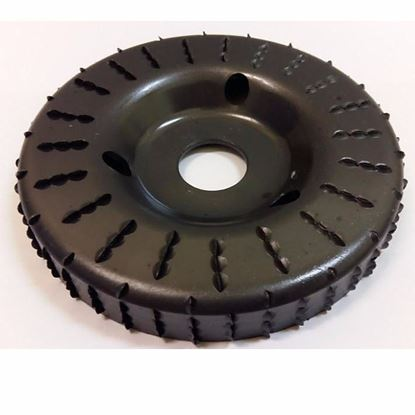 Obrázok pre výrobcu Rašpľa rotačná 120 x 16 x 22,2 mm TARPOL T-43 V45050