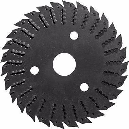 Obrázok pre výrobcu Pílový kotúč s rašpľou 125 x 3 x 22,2 mm TARPOL T-13 V45013