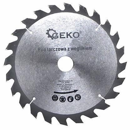 Obrázok pre výrobcu Geko pílový kotúč do dreva s SK plátkami