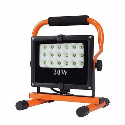 Obrázok pre výrobcu Solight Vonkajší reflektor LED 20 W/5 000 K, 230 V WM-20W-FES