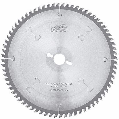 Obrázok pre výrobcu Pílový kotúč na drevo SK 300 x 3,2 x 30 z72, 5397-13 TFZL, PILANA