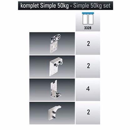Obrázok pre výrobcu LAGUNA kovanie SIMPLE 50/2 3328