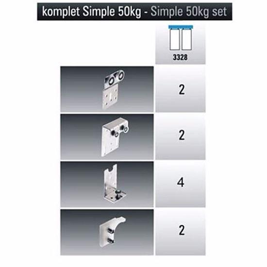 Obrázok LAGUNA kovanie SIMPLE 50/2 3328