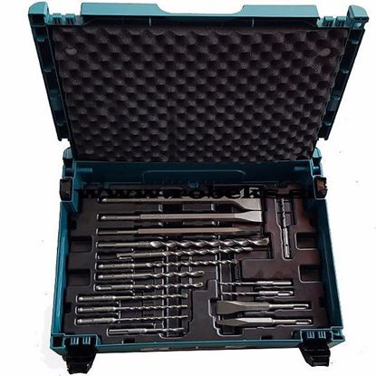 Obrázok pre výrobcu Makita B-52059 sada vrtákov a sekáčov SDS+ 17-dielna v systainery