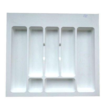 Obrázok pre výrobcu Príborník ECO šedý/biely do 600 mm DOPREDAJ