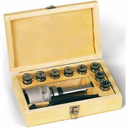 Obrázok pre výrobcu Proma kleštinový upínač MkIII a sada kleštin 4 - 16 mm 25220094