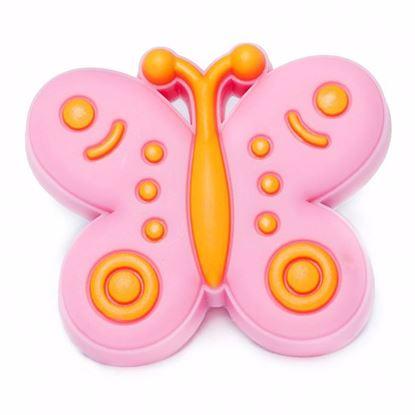 Obrázok pre výrobcu Úchytka DC GD07-ROZ knopok motýľ ružový