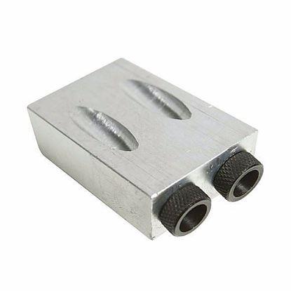 Obrázok pre výrobcu IGM Spojovací prípravok Pocket pre 6, 8 a 10mm drevené kolíky 125-868549
