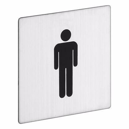Obrázok pre výrobcu Znak na WC ROSTEX muži 1033001200
