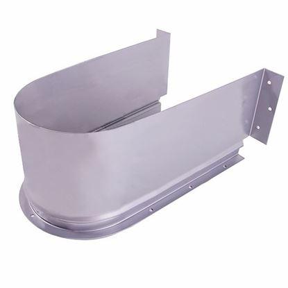 Obrázok pre výrobcu Lunit Kryt na syfón do zásuvky Biely/Sivý