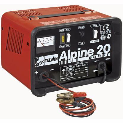 Obrázok pre výrobcu Telwin Alpine 20 Boost nabíjačka 12 - 24 V 807546