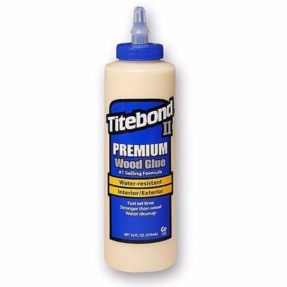 Obrázok pre výrobcu Titebond II Premium Lepidlo na drevo D3 - 473 ml 123-5004