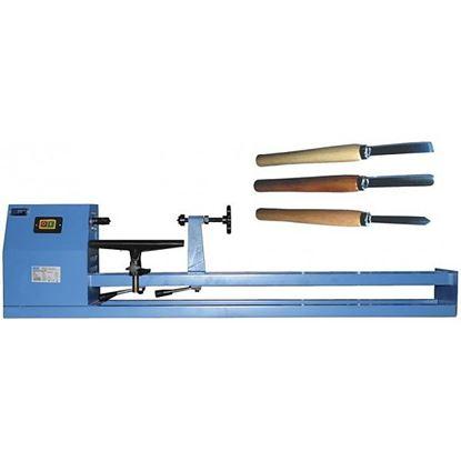 Obrázok pre výrobcu Sústruh 1000CE + 3 sústružné nože Güde 501