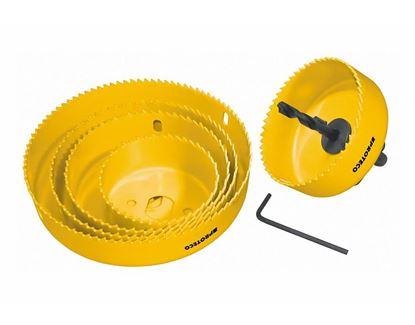 Obrázok pre výrobcu Proteco sada vykružovačov 64 - 127 mm 42.02-10176
