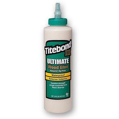 Obrázok pre výrobcu Titebond III Ultimate Wood Glue D4 473 ml lepidlo na drevo 123-1414
