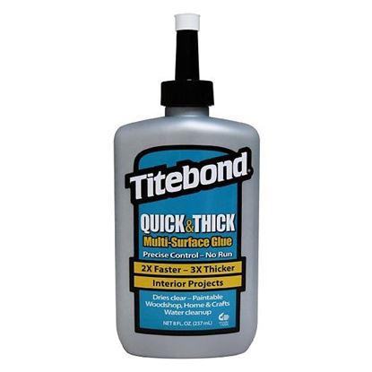 Obrázok pre výrobcu Titebond Quick & Thick Lepidlo na drevo 237 ml 123-2403