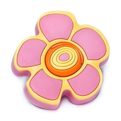 Obrázok pre výrobcu Úchytka DC GD13-ROZ knopok kvietok ružový