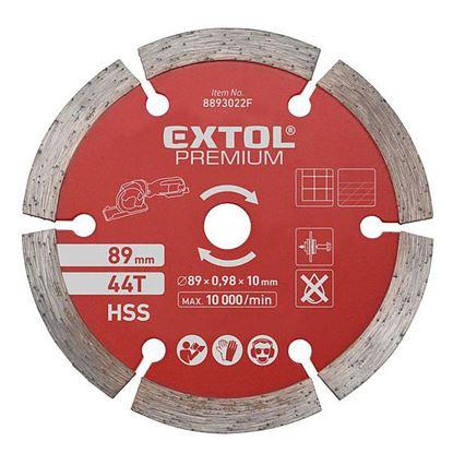 Obrázok pre výrobcu Extol 8893022F kotúč rezný diamantový 89 mm