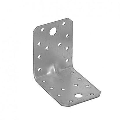 Obrázok pre výrobcu Uholník s prelisom KP4 70 x 70 x 55 mm 4024