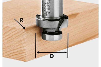 Obrázok pre výrobcu FESTOOL Zaobľovacia fréza HW R3-OFK 500 490093