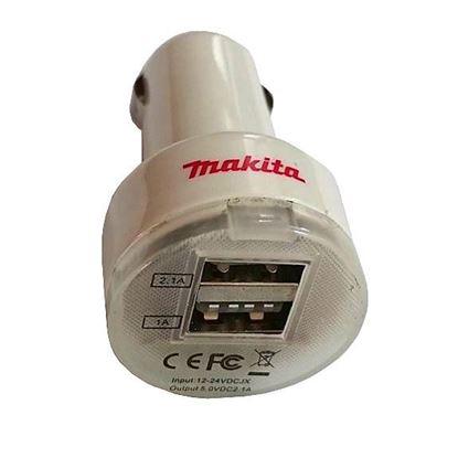 Obrázok pre výrobcu Makita promo USB nabíjačka do auta R-0195