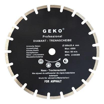 Obrázok pre výrobcu Geko G00279 Diamantový kotúč rezný na asfalt 350 x 32 mm
