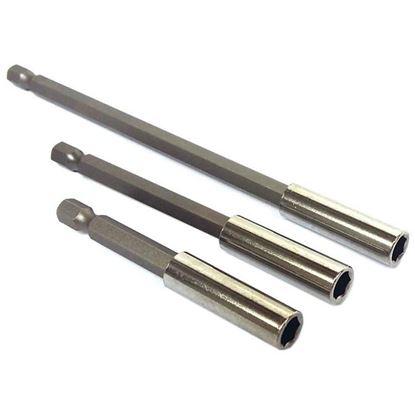 Obrázok pre výrobcu XL-Tools Sada nádstavcov 3-dielna 75/100/150 mm 2.bitu13