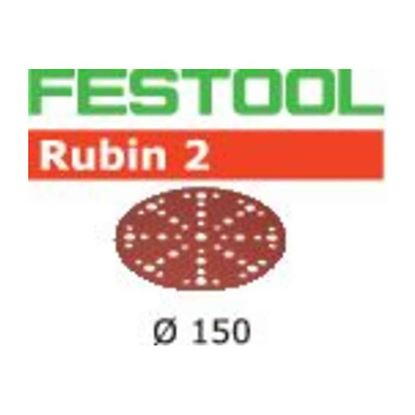 Obrázok pre výrobcu Festool Brúsne výseky Rubin 2 STF D150/48 P180 RU2/50 575192