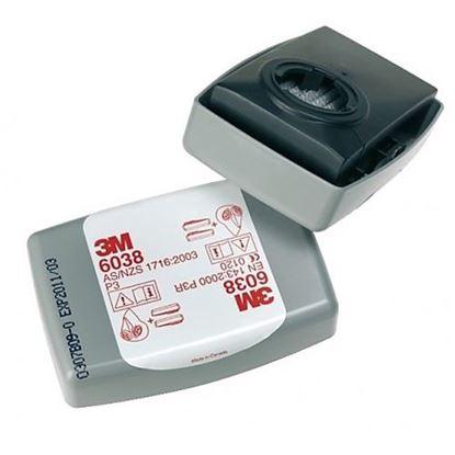 Obrázok pre výrobcu Prachový filter 3M 6035 2 ks
