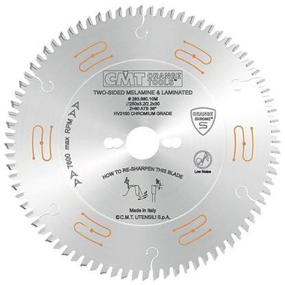 Obrázok pre výrobcu CMT CHROME C283 Pílový kotúč na lamino bez predrezu