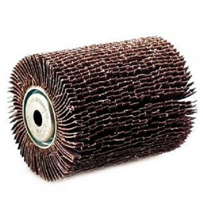 Obrázok pre výrobcu Makita P-01127 lamelový brúsny valec (Fíbrový kartáč) 120 mm K40 pre brúsku 9741