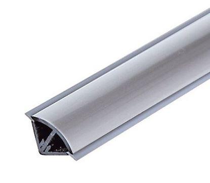 Obrázok pre výrobcu Galea Tesniaci profil L15/A/02 biela 3 m