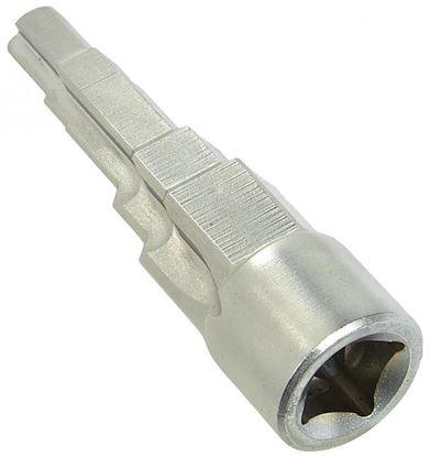 """Obrázok pre výrobcu GEKO G01781 Kľúč na radiátorové šrubenie 5-stupňový na 3/8""""-1"""" pre 1/2"""" račňu"""