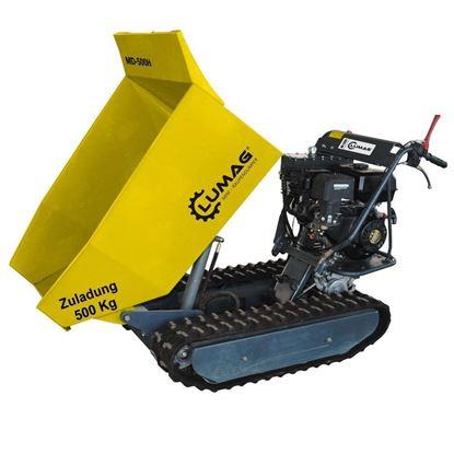 Obrázok pre výrobcu Lumag MD 500H, Mini Dumper 6,8 kW Vozík 500 kg