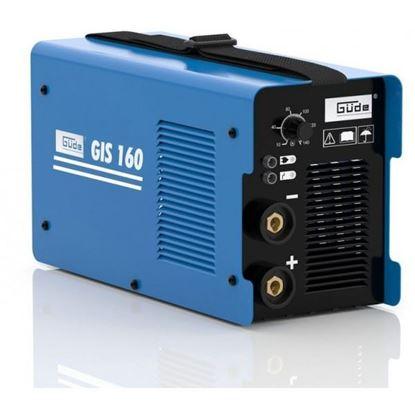 Obrázok pre výrobcu Güde GIS 160 zváračka invertorová MMA/WIG 20028