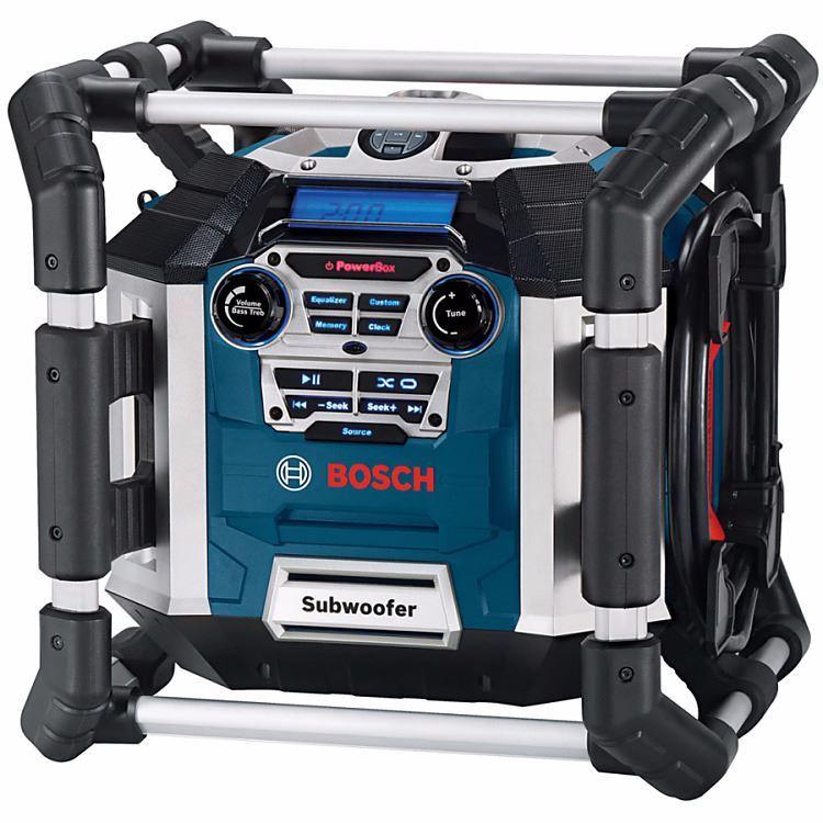 Remab - Rádio Bosch GML 50 Professional 0601429600 + Bosch GSR 120-LI Aku. skrutkovač