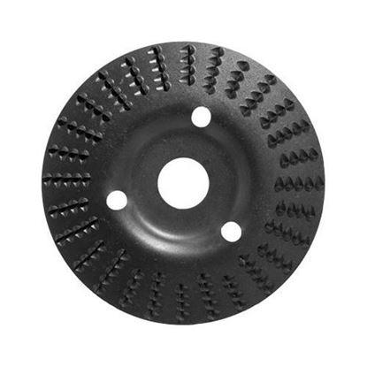 Obrázok pre výrobcu Rašpľa do uhlovej brúsky zapustená 125 x 3 x 22,2 mm T-63 TARPOL V45042