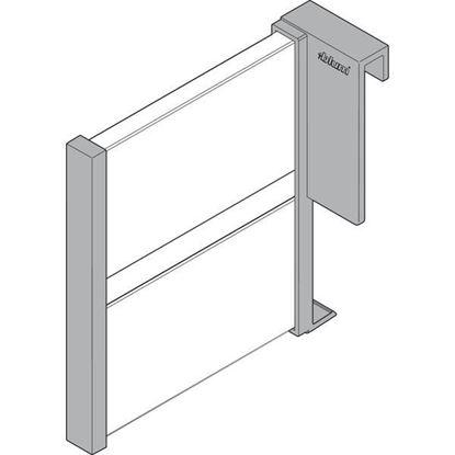 Obrázok pre výrobcu BLUM Z43L100S predel šuflíka 100 mm biely ORGA-Line