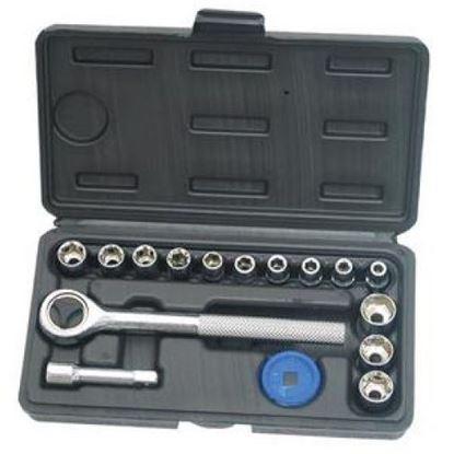 "Obrázok pre výrobcu Extol 6401 golasada 16 dl. CV 4-13 mm 1/4"""