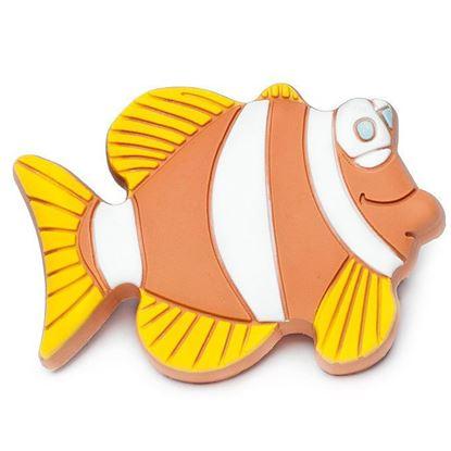 Obrázok pre výrobcu Úchytka DC rybka GD03-BR hnedá knopka
