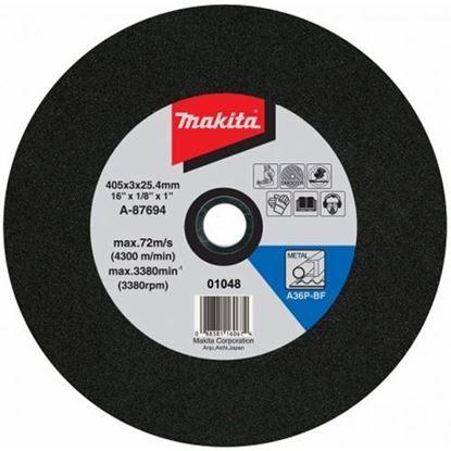 Obrázok pre výrobcu Makita A-87694-25 Rezný kotúč na kov 405 x 3 x 25,4 mm