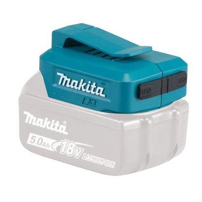 Obrázok pre výrobcu Makita ATAADP05 adaptér na nabíjanie telefónov