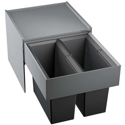 Obrázok pre výrobcu Blanco Select 45/2 2x16l odpadkový kôš 518721