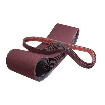 Obrázok pre výrobcu Profi Line M400-1100 Brúsny pás plátno 100x914 pre 233A, JSG-64 - hrubosť 100, korund