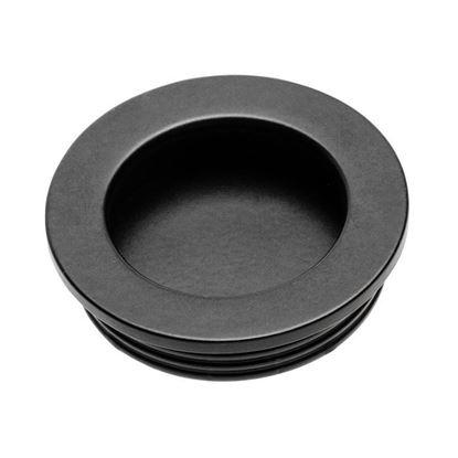 Obrázok pre výrobcu GTV UZ-00B224-20 úchytka zadlabávacia čierna okrúhla