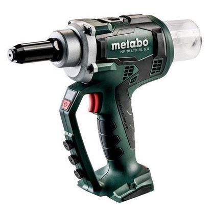 Obrázok pre výrobcu Metabo NP18LTX BL 5 aku. nitovacie kliešte 619002840 + SET 685133000 3 x 4 Ah LIHD