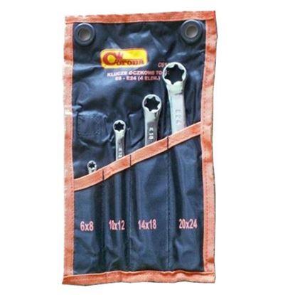 Obrázok pre výrobcu CORONA 4-dielna sada kľúčov PC6104